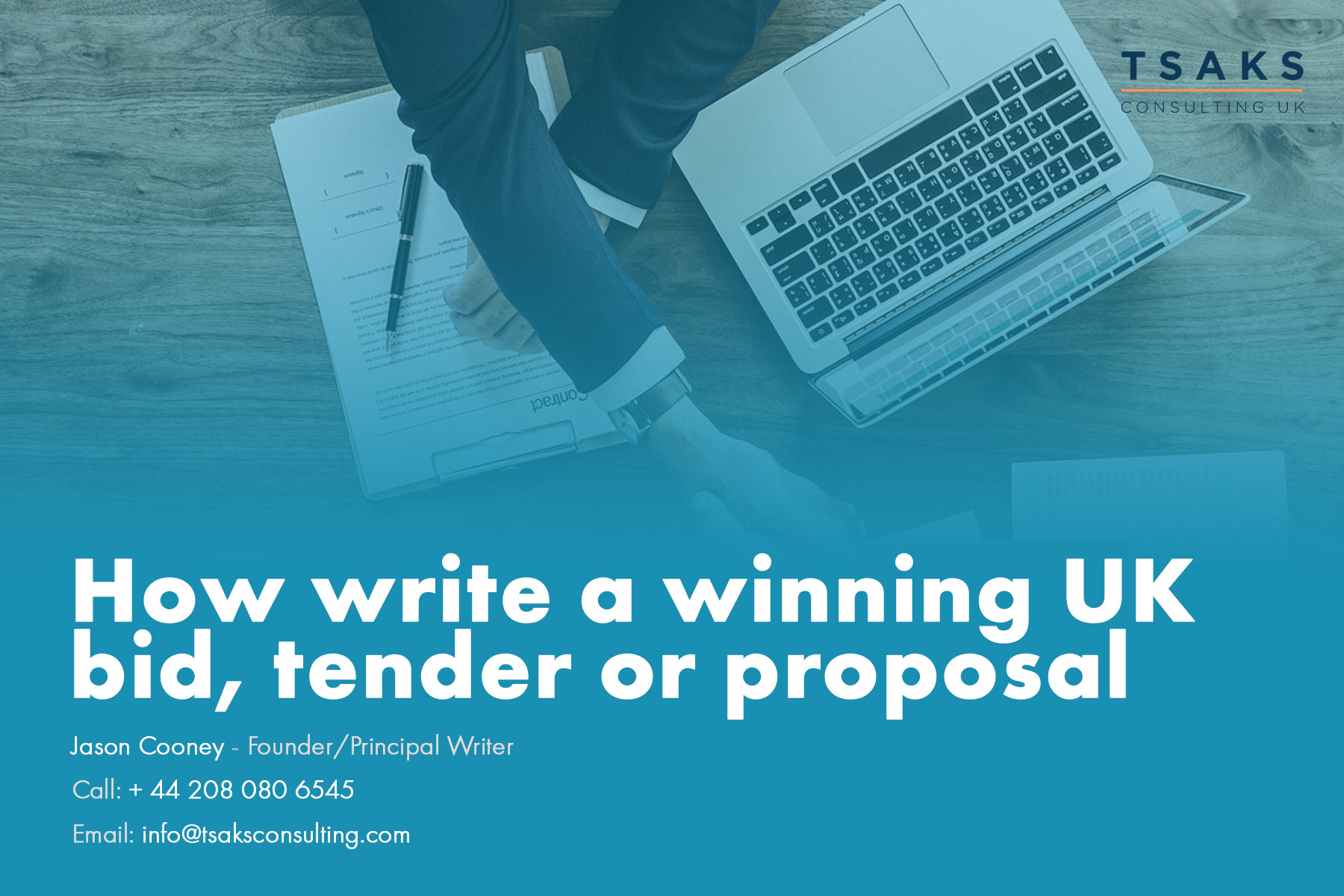 How to write a winning UK government tender bid or proposal